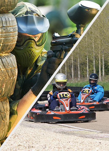 Karting / paintball